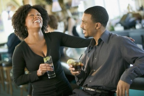 Image result for black couple laughing